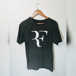 Men's Nike black T shirt with RF logo